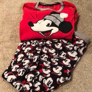 Vintage Mickey Disney pajamas